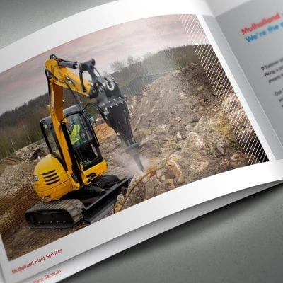 A digital marketing project for West Lothian based Mulholland Plant Services.
