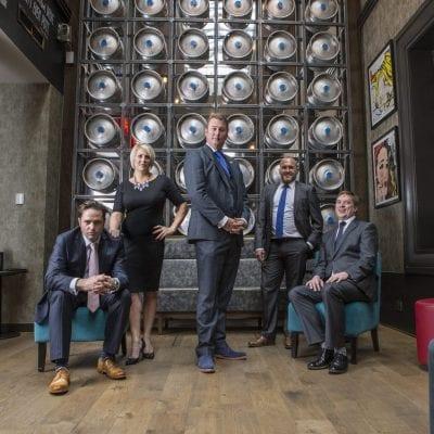 Headshot photography – Edinburgh based Aston Forrest Recruitment.