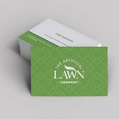 Brand and graphic design services for Edinburgh based The Artificial Lawn company.