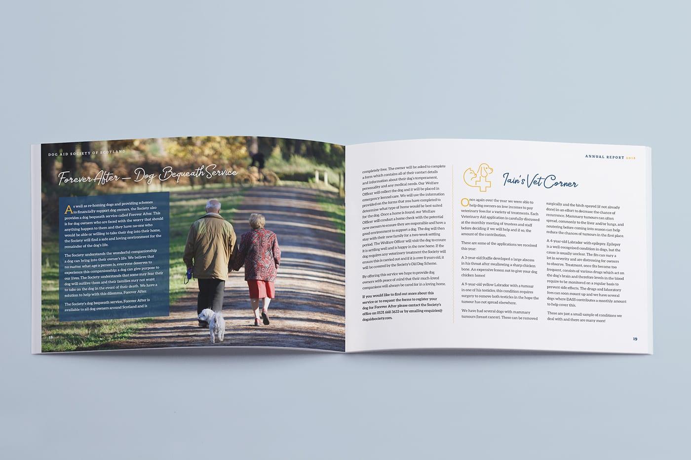 Annual report publisher Edinburgh | Reddishpink Media