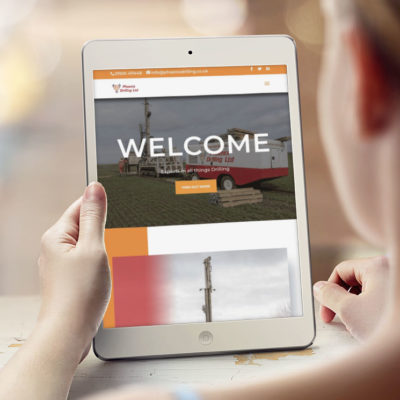Website design – West Lothian based Phoenix drilling.